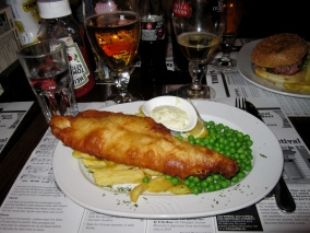 fish & chips @ Paddy Reilly's