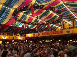 Hippodrom tent!