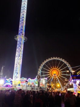 Oktoberfest at night...