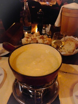 finally, fondue :)